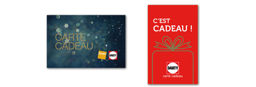 carte cadeau darty