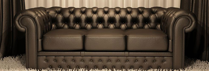 Achat de canapé club