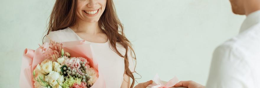 livrer des fleurs