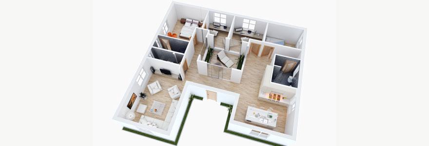 agencement de logement